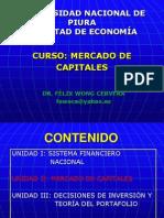 Unidad 2 - Mercado de Capitales 2013