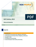 SAP SD sales integration
