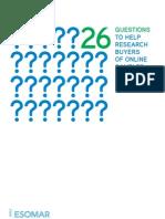 26 Questions