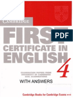 67642482 FCE 4 Past Papers Old Version W Key