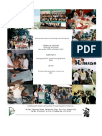 Sustainable Rural Development Program (SRDP)Terminal Report, By Project Development Institute