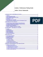 Performance Testing Guide V6