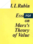 Isaak Illich Rubin-Essays on Marx's Theory of Value