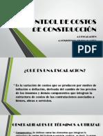 CONTROL DE COSTOS DE CONSTRUCCIÓN