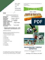Programa Campeonato
