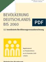 Bevölkerungsentwicklung Deutschland