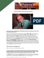 Bruce Gaitsch Coolnight Interview English 10022009