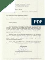 Edital para seleção de Diretor Geral da SUAPI - Quadro de Reserva