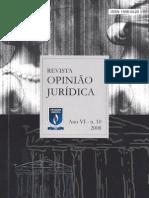 Revista Opiniao Juridica 10 Edt