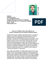None Are So Blind as Those Who Will Not See(1)