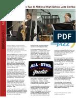 DSOA Jazz Sends 2 to National Jazz Combo - DSOA Band Beat 03.01.13