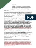 Das Dogma -Teil 5– Wissenschaftliche Betrachtungen des Holocaust vom jüdischen Schriftsteller Ben Weintraub in der Überarbeitung und Übersetzung von Maria Gabathuler