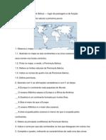 Peninsula Iberica e Primeiros Povos