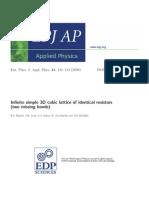 11- Infinite 3D Resistance- Journal Copy