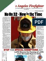 The Los Angeles Firefighter Nov / Dec 2012