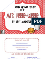 Piggle-Wiggle Novel Study