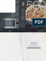500 Recetas Vegetarianas de Microondas