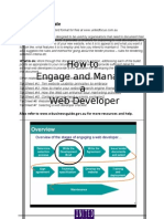 Website Development Brief Template