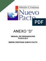 Manual de Organizacion--ANEXO D
