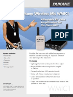 Dukane Wireless Microphone