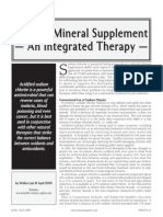 Miracle Mineral Supplement - an Integrated Therapy