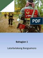 Perjuangan Bangsamoro dan Kesultanan Sulu.