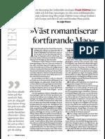 """""""Intervju med Frank Dikötter"""", för Axess."""