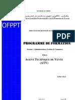At Programme de Formation Juillet 2012