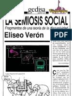 Eliseo Veron La Semiosis Social