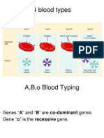 Blood Type Genetics Lecture