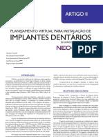 Artigo 02 Planejamento Virtual Para Instalacao de Implantes Dentarios Segundo a Tecnica Do Neoguide