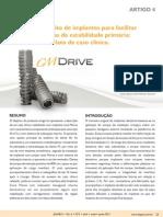 ARTIGO 04 Novo Conceito de Implantes Para Facilitar a Obtencao de Estabilidade Primaria Relato de Caso Clinico