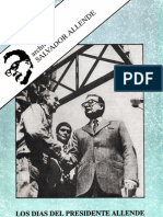 Los Días del Presidente Allende. Cronología-documentos (Gregorio Selser. UAM, 1991)