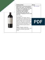 Final Winelist