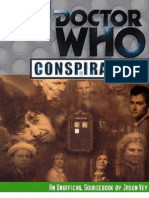 Conspiracy X - Doctor Who