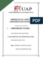 Aprendizaje vicario 05-01-2013