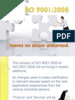 ISO 9001:2008 Edition