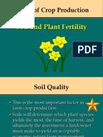 Basics of Crop Production