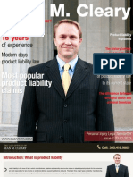 Personal Injury Legal Newsletter - Issue2 03.01.2013