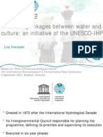 United Nations Water and Culture