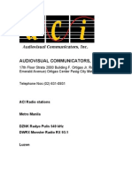 Audiovisual Communicators, Inc.