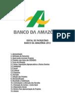 Edital_Patrocinio_2012nBANCODAAMAZONIA