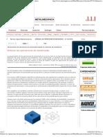 Ordenar las operaciones de mecanizado - Metalmecánica