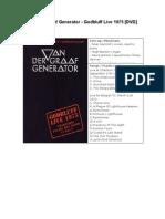 Van Der Graaf Generator.doc