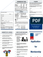 Tasmanian Labor New Membership Form