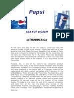 reportonpepsi-110914025219-phpapp02
