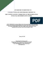 UN CERD Report Jan 30 12