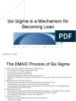 Lean Six Sigma Powerpoint Presentation Online