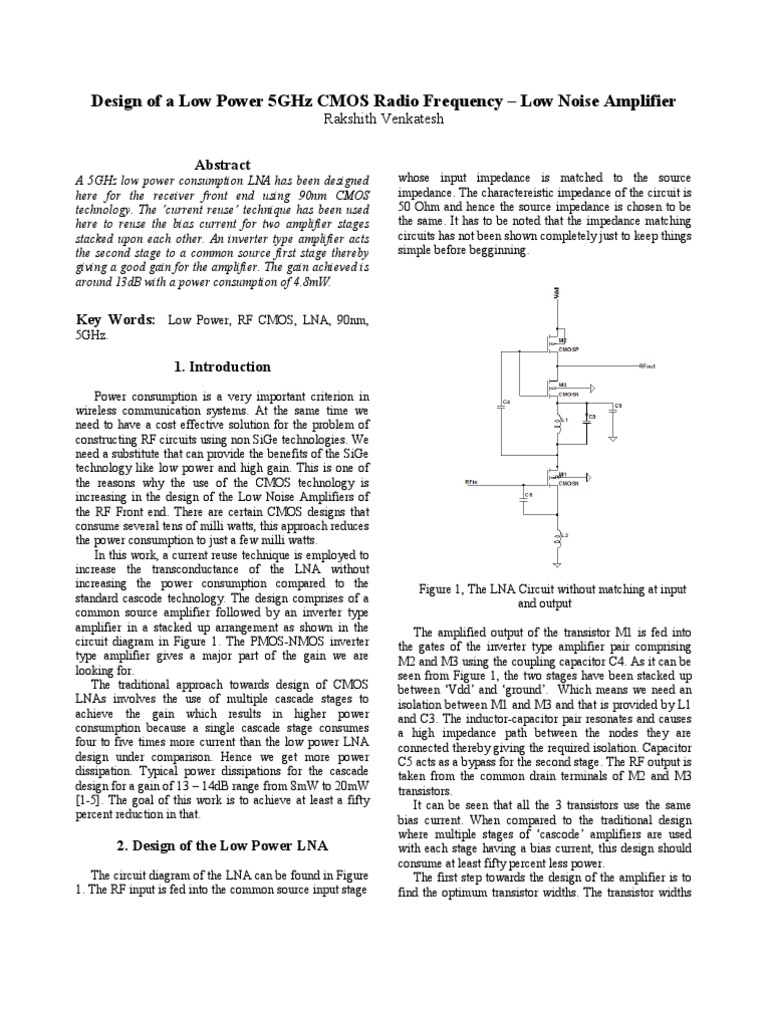 Rf Project Report Amplifier Electronic Circuits Figure 2 Inductance Meter Circuit Diagram