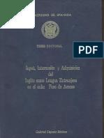 Input, Interacción y Adquisición del Inglés como Lengua Extranjera en el Aula